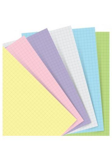 Rezerva hartie Notebook A5 Marble - Pastel Squared Paper