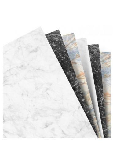 Rezerva hartie 95x171 mm Organiser Marble - Marmura