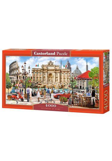 Puzzle 4000 piese Splendor of Rome