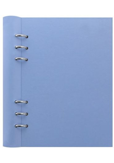 Clipbook Classic A5 cu inel si rezerve - Vista Blue
