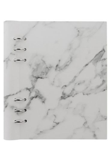 Clipbook Patterns A5 cu inel si rezerve - Marble