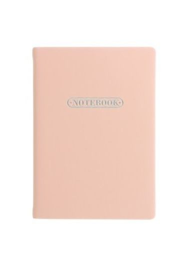 Notebook A6 LETTS - Pastel Peach
