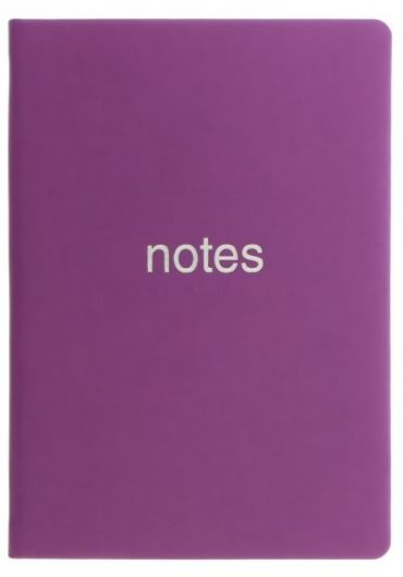 Notebook A6 LETTS - Dazzle Purple