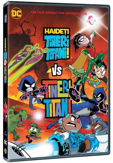 Haideti Tineri Titani! Vs. Tineri Titani DVD