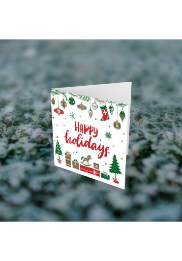Felicitare - Happy Holidays