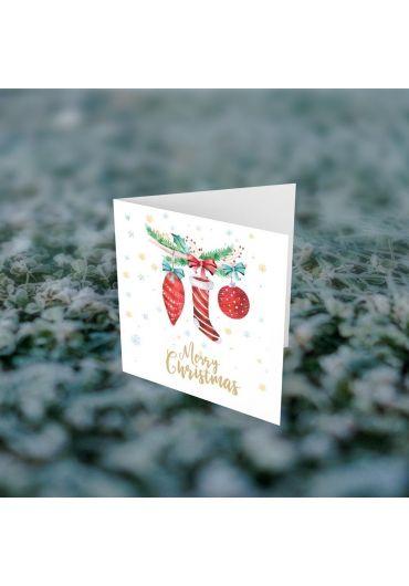 Felicitare - Merry Christmas cizmulita