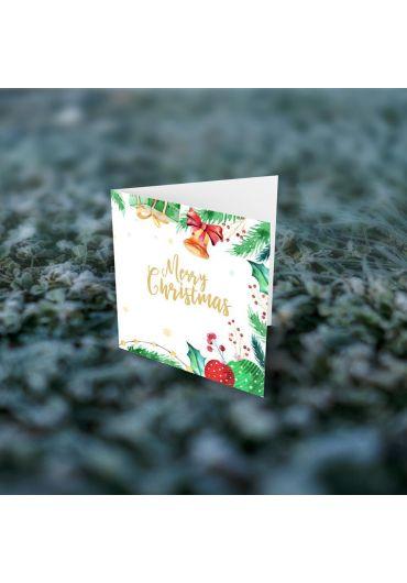 Felicitare - Merry Christmas clopotel