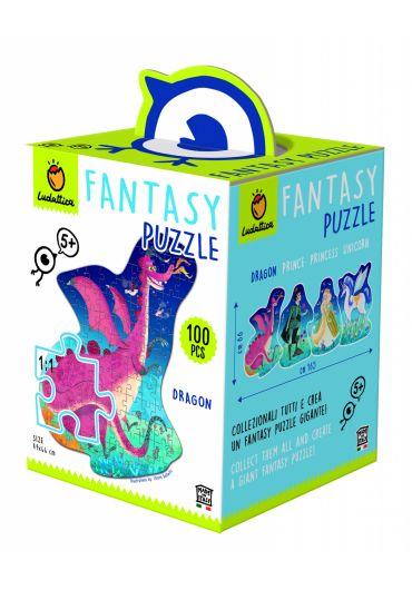 Puzzle Lumea Fantastica - Dragon