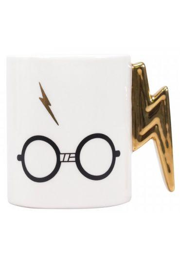 Cana ceramica - Harry Potter - Lightning Bolt