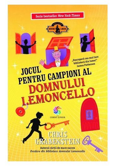 Jocul pentru campioni al domnului Lemoncello. Volumul lV