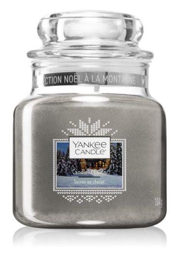 Lumanare parfumata mica Jar - Candlelit Cabin