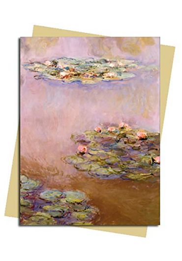 Felicitare - Monet - Water Lilies
