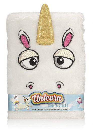 Carnet - Unicorn White Furry