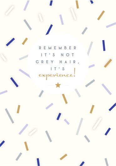 Felicitare - Not Grey Hair