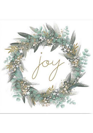 Felicitare - Joy Wreath