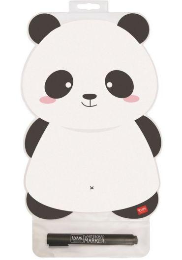Placuta magnetica in forma de panda cu marker