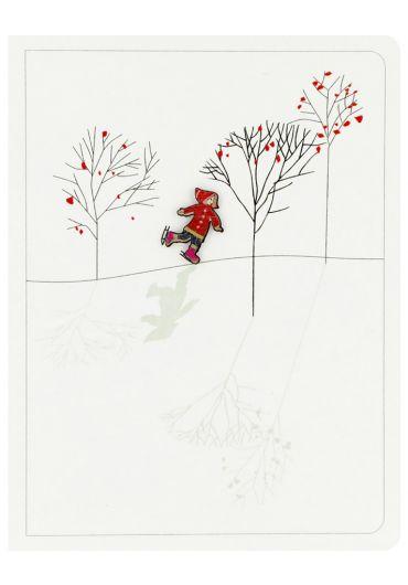 Felicitare - Child skating