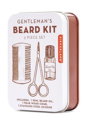 Kit ingrijirea barbii - Gentleman's Beard Tin