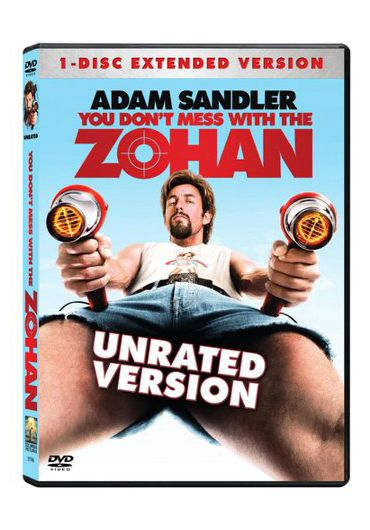 You Don't Mess with the Zohan/Nu te pune cu Zohan DVD