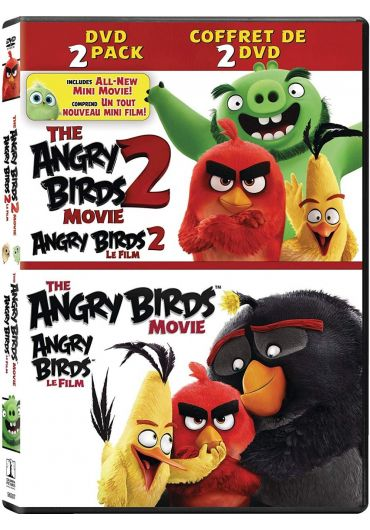 The Angry Birds 1+2 Movie Collection/Angry Birds 1+2 Filmul (Colectie 2 DVD-uri) DVD