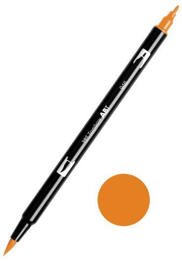 Marker Tombow ABT Dual Brush Gold Ochre