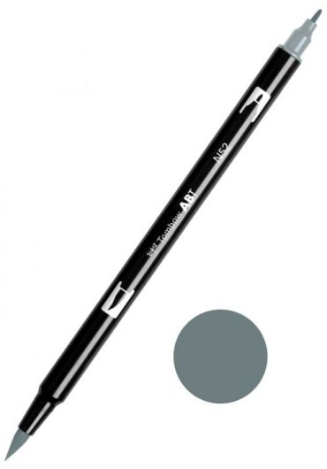 Marker Tombow ABT Dual Brush Cool Gray 8