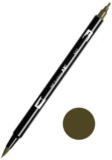 Marker Tombow ABT Dual Brush Warm Grey 5