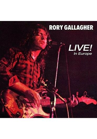 Rory Gallagher - Live In Europe - LP