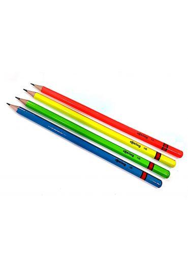 Creion lemn neon HB