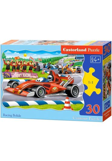 Puzzle 30 piese Racing Bolide