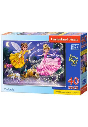 Puzzle 40 piese Maxi Cinderella