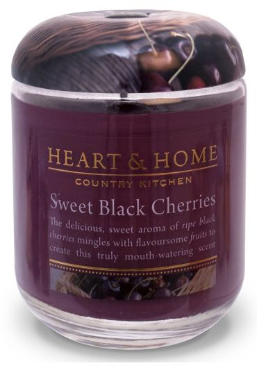 Lumanare parfumata Jar - Sweet Black Cherries