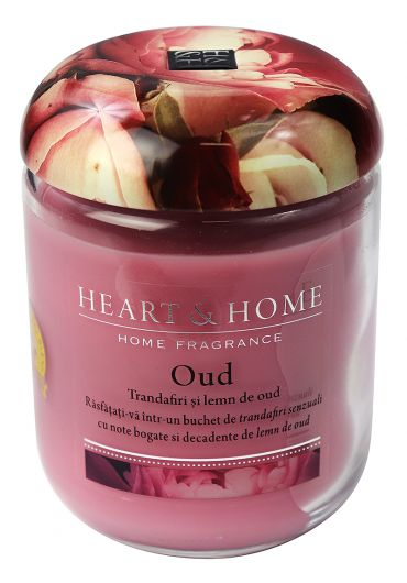 Lumanare parfurmata Jar - Oud Bloom