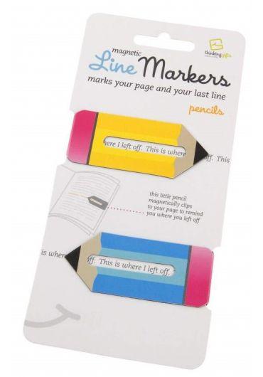 Semne de carte magnetice - Linemarkers pencils