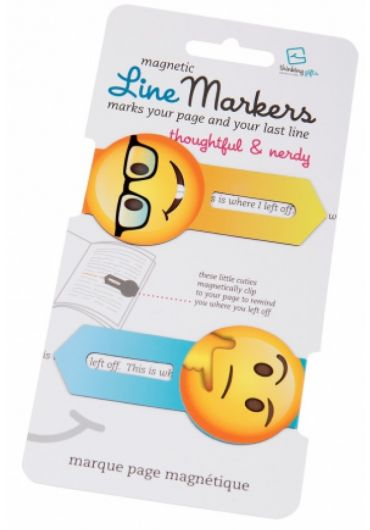 Semne de carte magnetice - Linemarkers Thoughtful&Nerdy