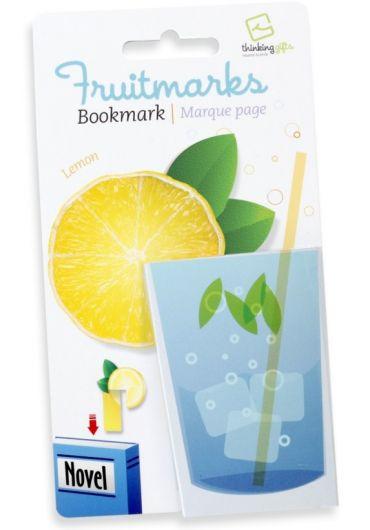 Semn de carte - Fruitmaks Lemon