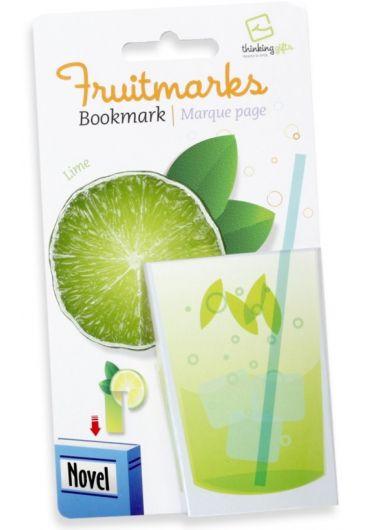 Semn de carte - Fruitmaks Lime