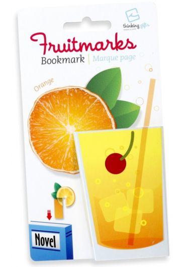 Semn de carte - Fruitmaks Orange