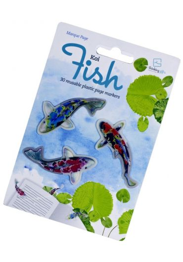 Semn de carte - Stikkimarks Koi Fish