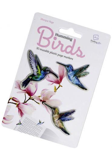 Semn de carte - Stikkimarks Humming Birds
