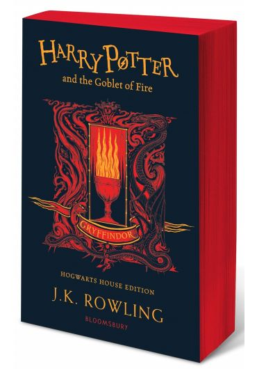 Harry Potter and the Goblet of Fire - Gryffindor Hogwarts House Edition