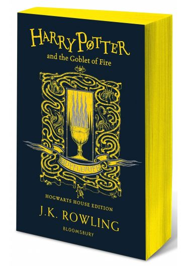 Harry Potter and the Goblet of Fire - Hufflepuff Hogwarts House Edition