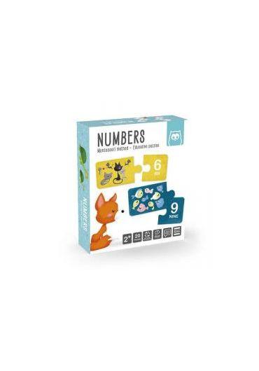 Puzzle educativ Montessori - Invatam numerele