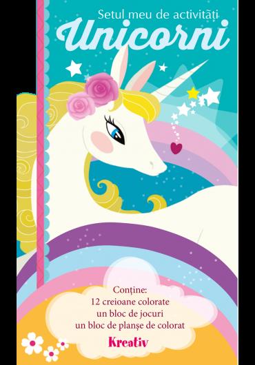 Setul meu de activitati - Unicorni