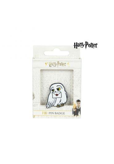 Insigna Metal Harry Potter Hedwig