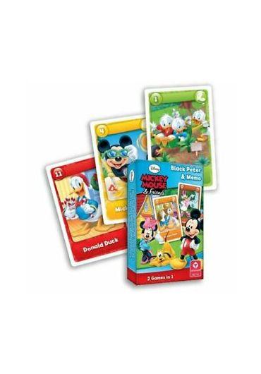 Carti de joc Disney Mickey Black Peter & Memo