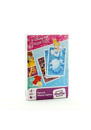 Carti de joc Disney Princess Black Peter and Memo Game