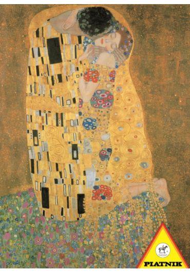 Puzzle 1000 piese Sarutul - Gustav Klimt