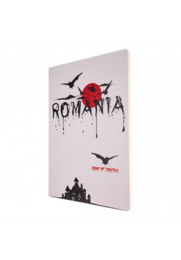 Agenda nedatata Dracula foaie alba 160 pagini