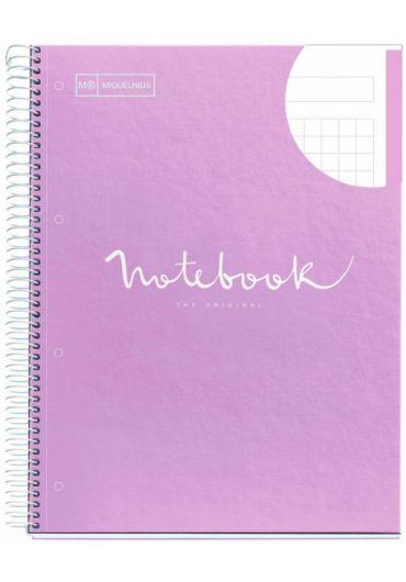 Caiet A4 80 file matematica Emotions Lavender
